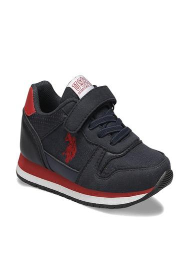 U.S. Polo Assn. Çocuk Ayakkabı Gaga 100489531 Mavi